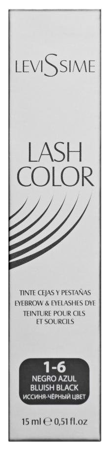 Купить Краска для бровей LeviSsime Lash Color №1.6 Сине-черный 15 мл