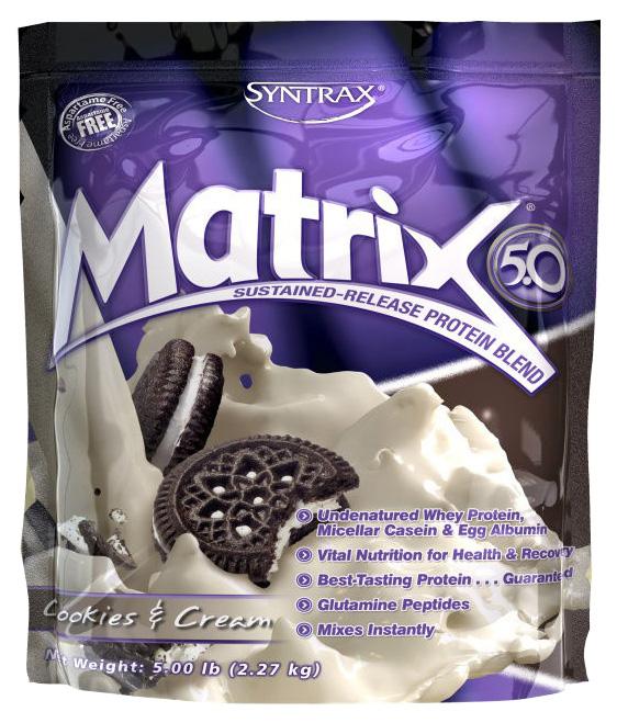 Протеин Syntrax Matrix 5.0 2270 г Cookies and Cream