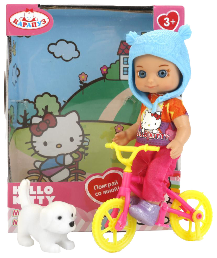 Купить Кукла Карапуз Hello Kitty Моя подружка Машенька, 12 см YL1701H-RU-HK, Классические куклы