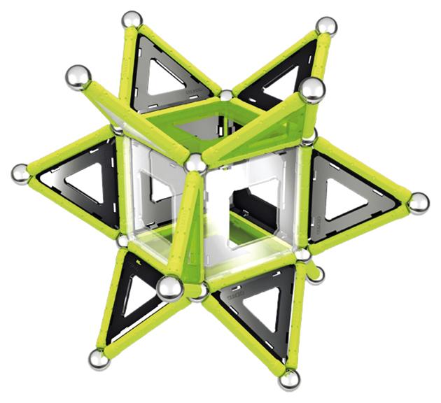 Купить Магнитный конструктор Geomag 337 glow 104 детали, Магнитные конструкторы