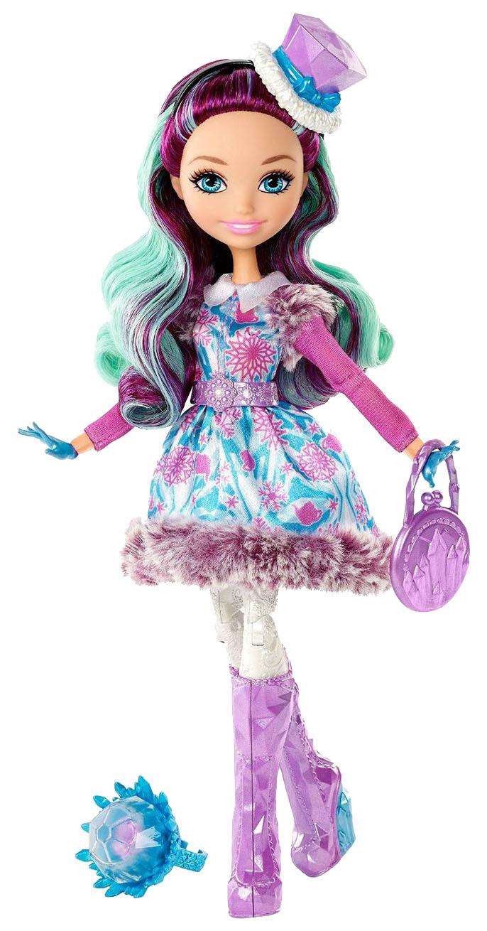 Купить Кукла Ever after high Madeline hatter Заколдованная зима DPP79, Куклы