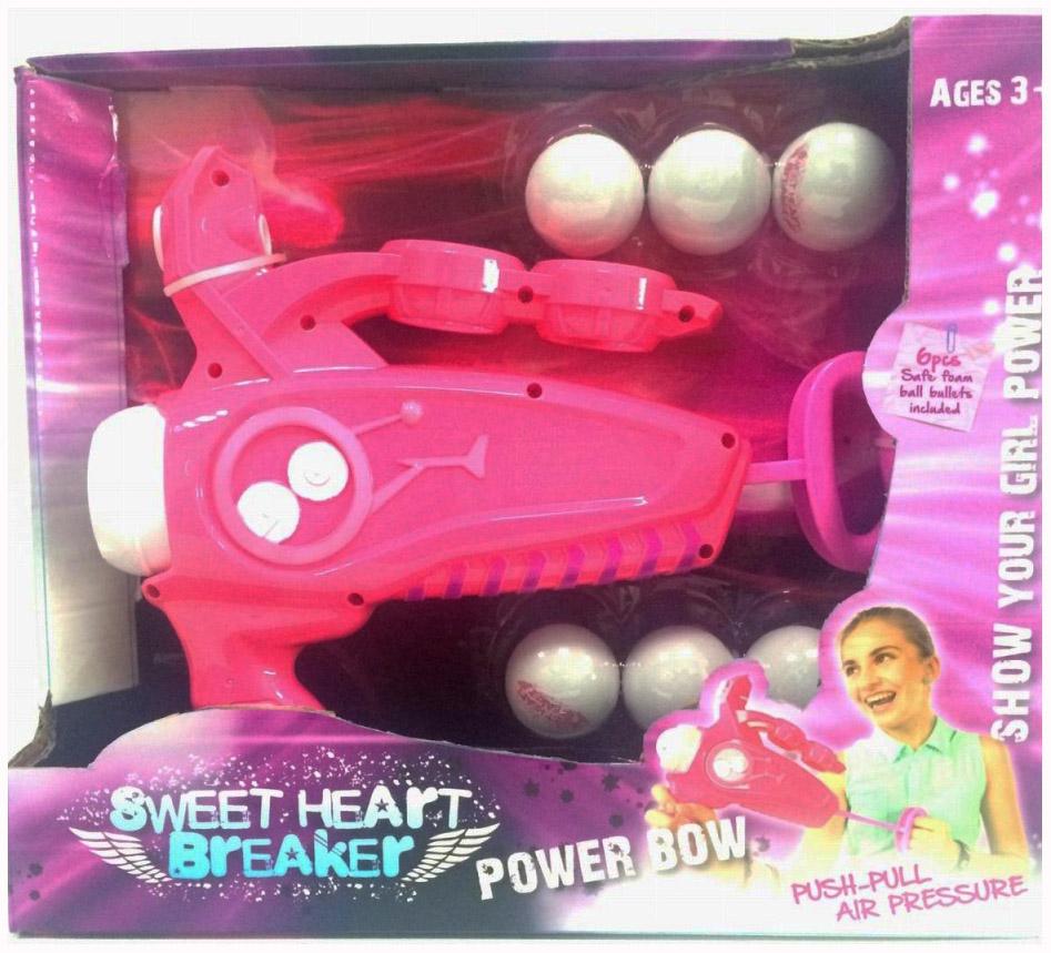 Игрушечное оружие Toy target 22018 Sweet Heart Breaker Розовый