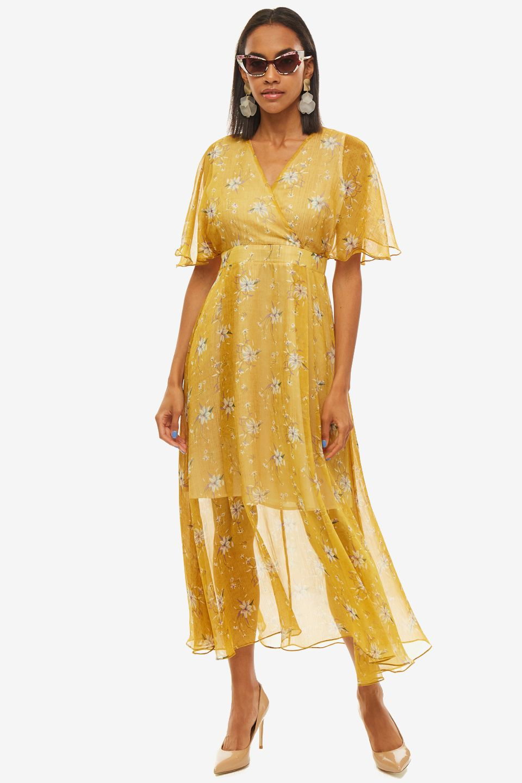 Платье женское ALISIA HIT желтое
