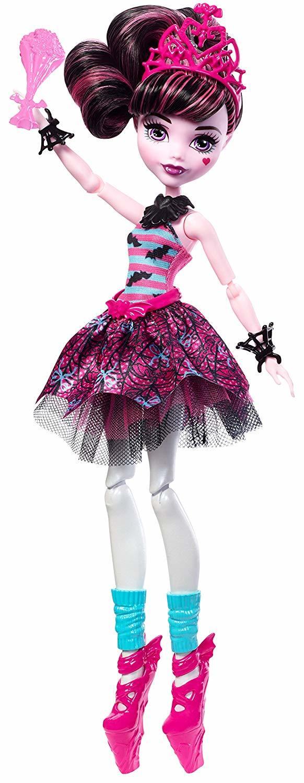 Купить Кукла Monster High Дракулаура Балерина FKP61, Куклы Monster High