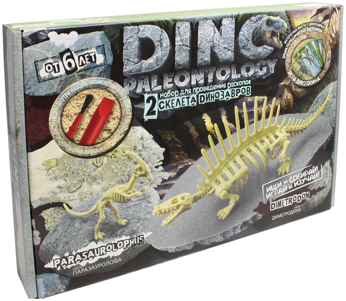 Купить DANKO TOYS Набор для проведения раскопок Dino Paleontology, набор 4 DP-01-04, Наборы для опытов