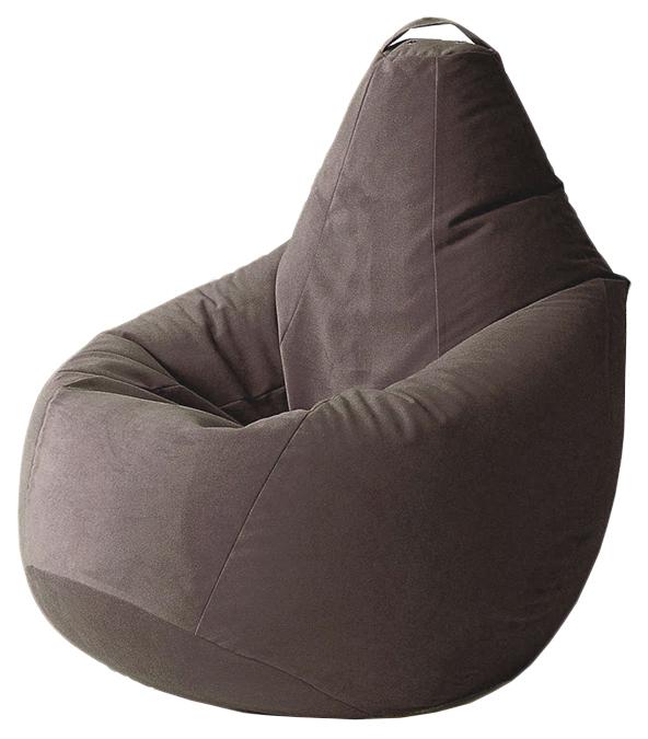 Кресло мешок Трия Купер, размер L, велюр,