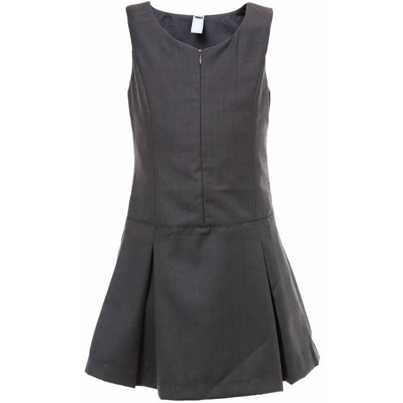 Купить Сарафан S'COOL!, цв. темно-серый, 128 р-р, S'Cool, Детские платья и сарафаны