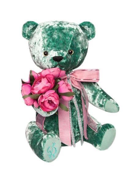 Мягкая игрушка BUDI BASA BAe-60 Медведь БернАрт изумрудный