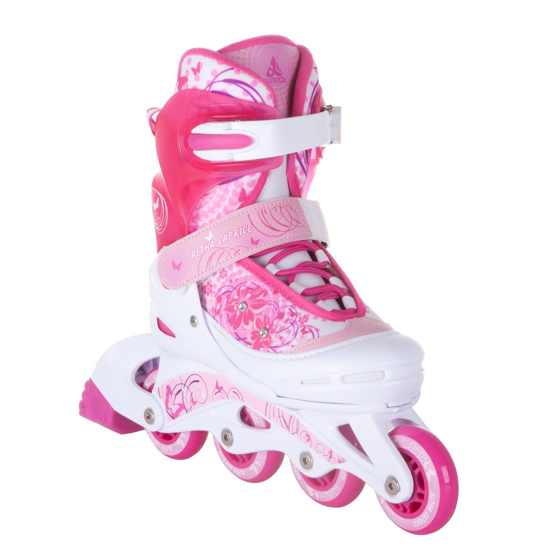 Раздвижные роликовые коньки Alpha Caprice Venera Pink L 38-41