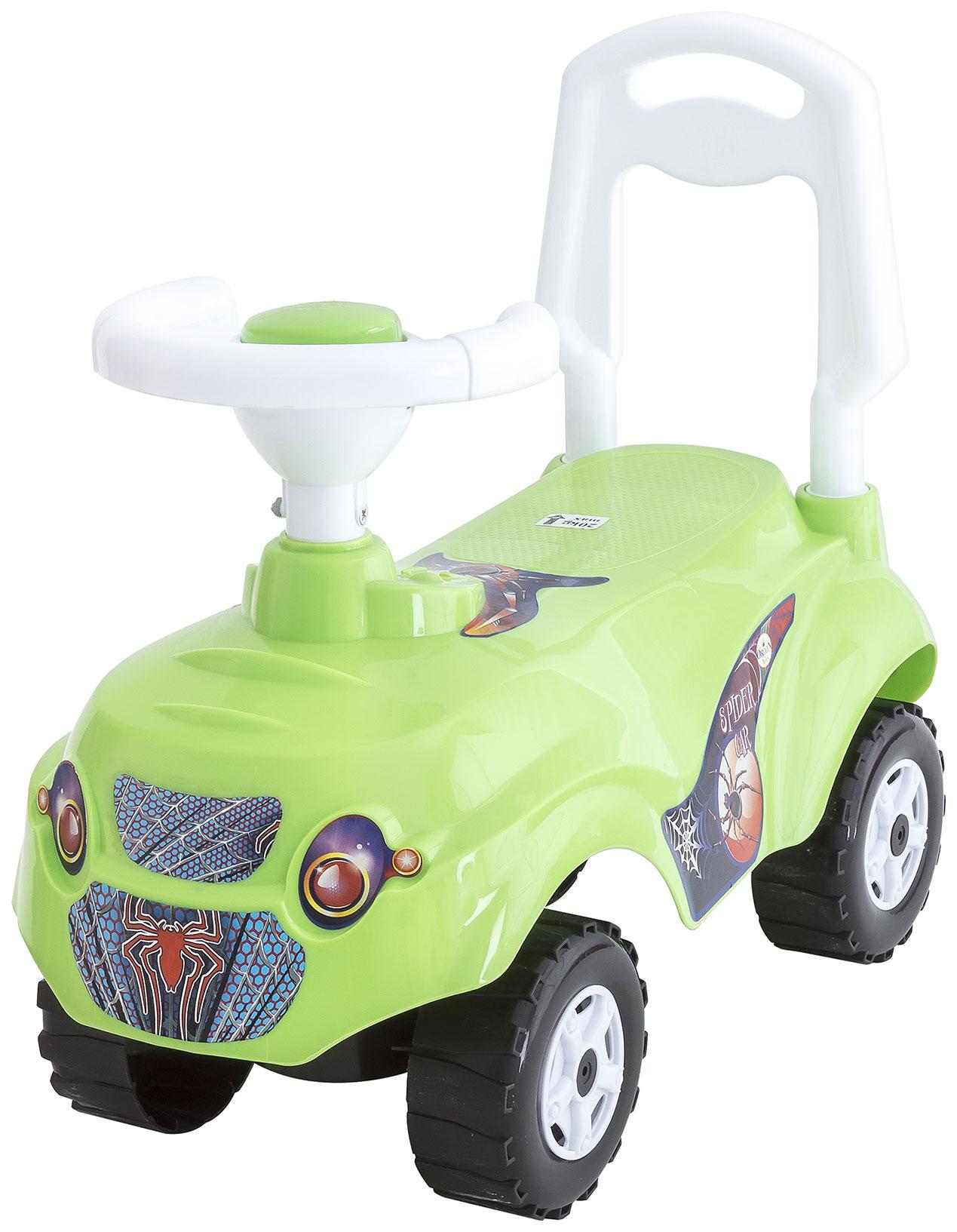 Каталка детская Orion Машинка Микрокар Цвет: Зеленый