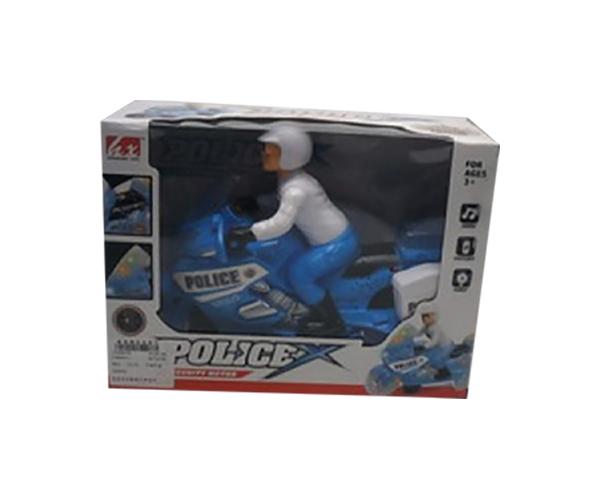 Мотоцикл Shantou Gepai с фигуркой 1612B022