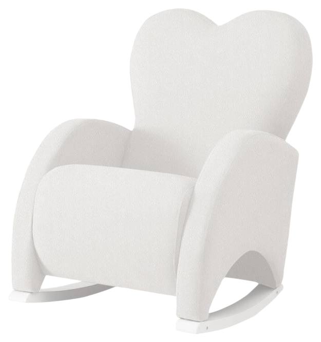 Купить Кресло-качалка Micuna (Микуна) Wing/Love Relax white/white искусственная кожа, Детские стульчики