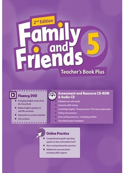 Family and Friends: Level 5: Teacher\'s Book Plus