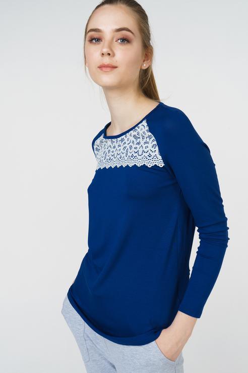 Джемпер женский Grishko AL - 3443 синий 48 RU фото