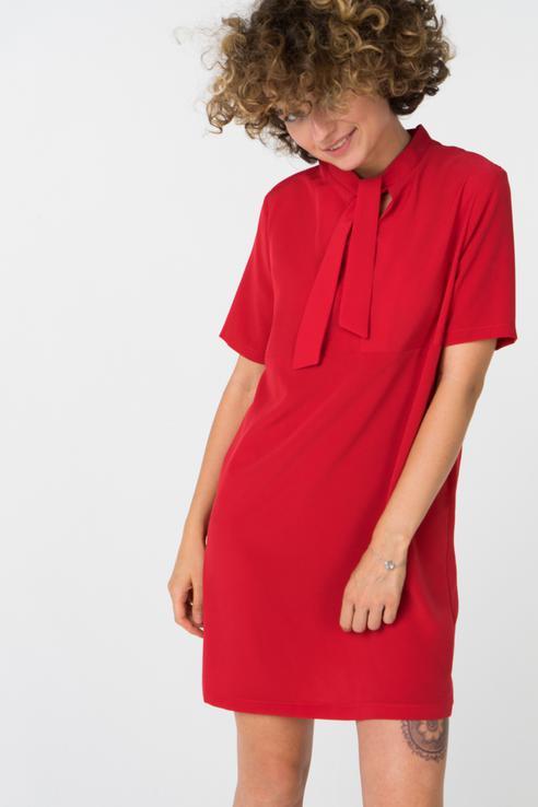 Платье женское Ennergiia 18101090013 красное S