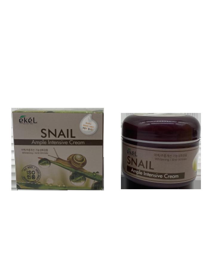 Купить Крем для лица с улиточным муцином Ekel Snail Ample Intensive Cream 100 гр