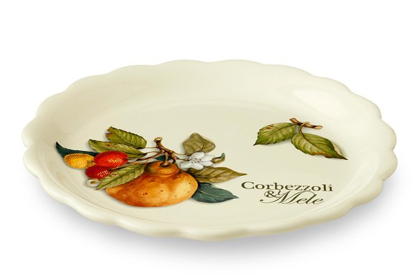 Тарелка закусочная Итальянские фрукты 21 см Nuova Cer 34085