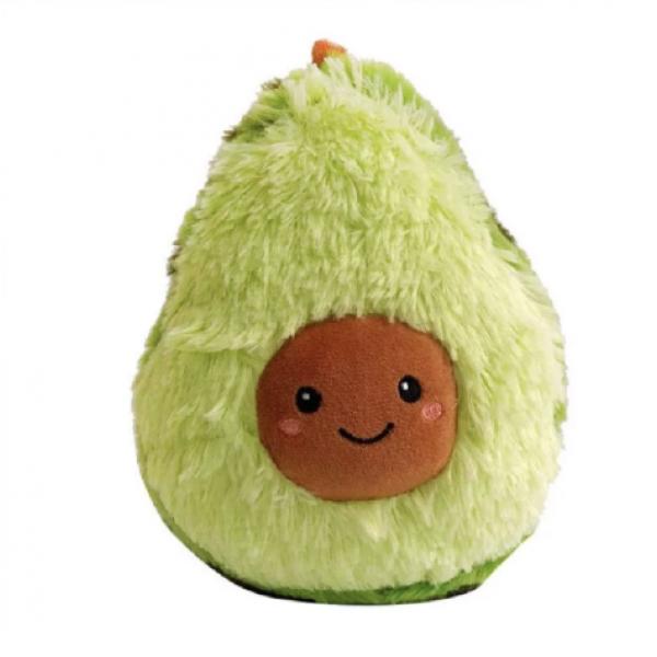 Плюшевая игрушка подушка Авокадо 20 см