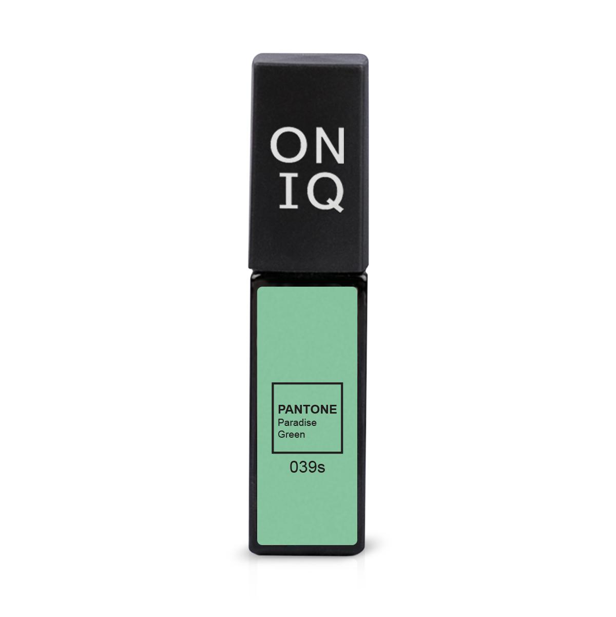 Купить Гель-лак Oniq PANTONE: Paradise green 6 мл