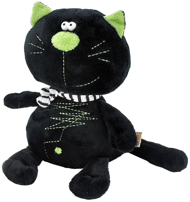 Мягкая игрушка Оранж Кот Батон черный