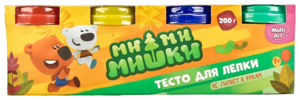 Паста для лепки Multi Art 450PD-MIMI Мимимишки 4 цвета