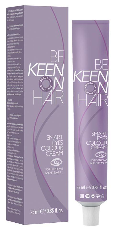 Краска для бровей Keen Smart Eyes Colour Cream Коричневая 25 мл