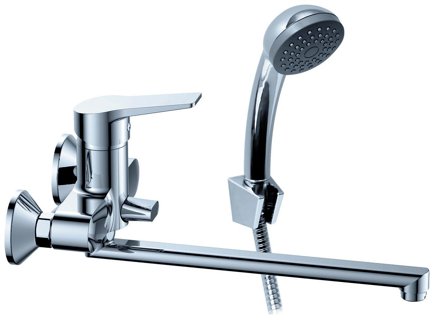"""Смеситель KONNER """"HIT"""" для ванны длинный излив HIT1600"""