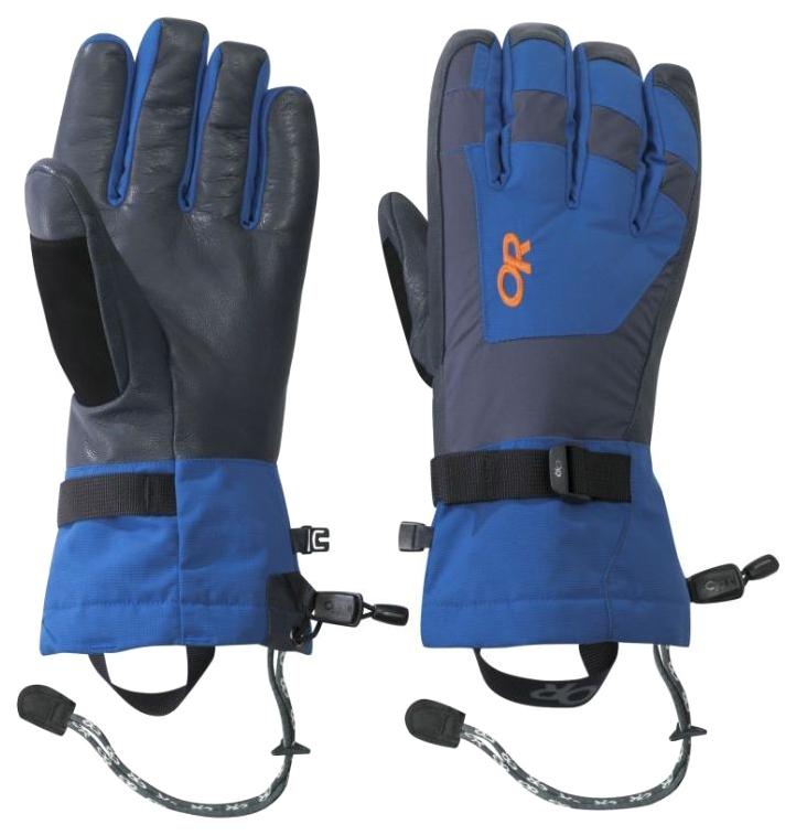 Перчатки Outdoor Research Revolution синие M