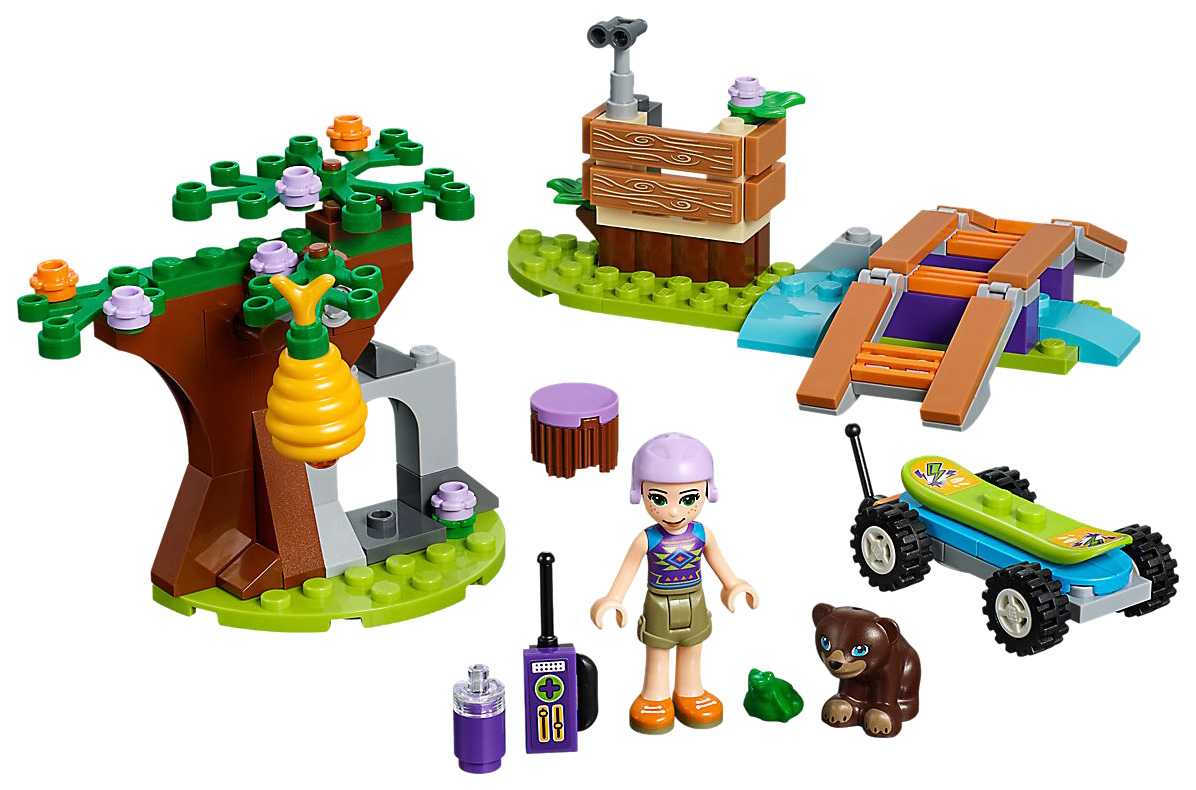 Купить Конструктор lego friends 41363 приключения мии в лесу, Конструктор LEGO Friends 41363 Приключения Мии в лесу