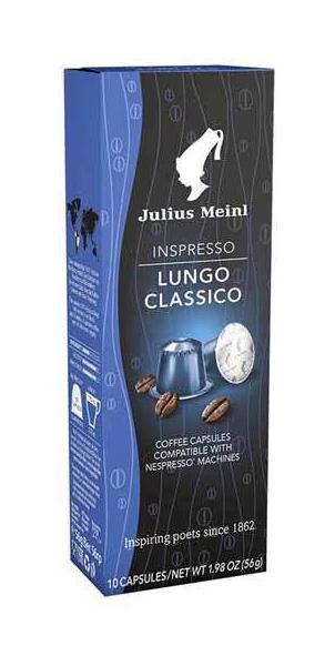 Капсулы Julius Meinl лунго классико для кофемашин Nespresso 10 капсул для кофемашины