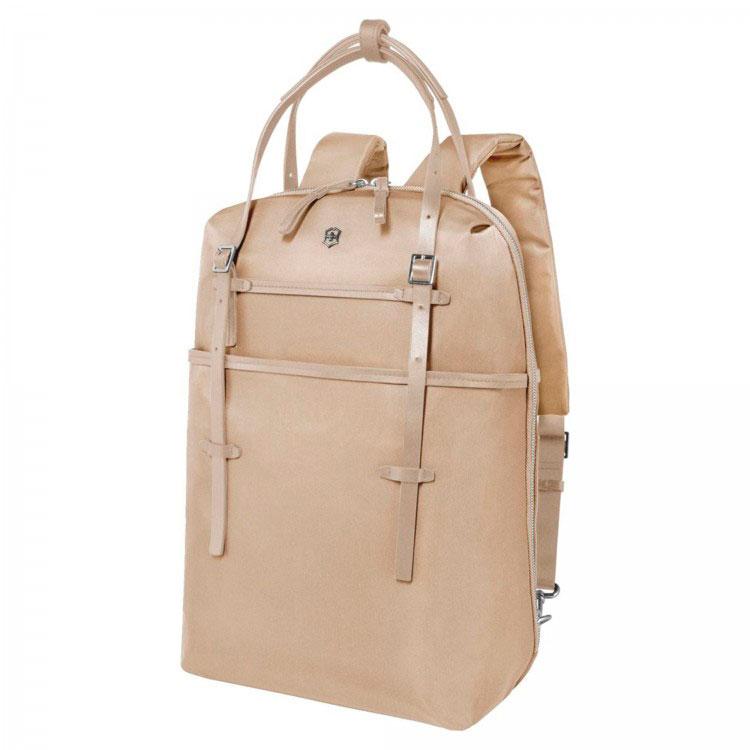 Рюкзак кожаный Victorinox Victoria Harmony 601773 золотистый 14 л
