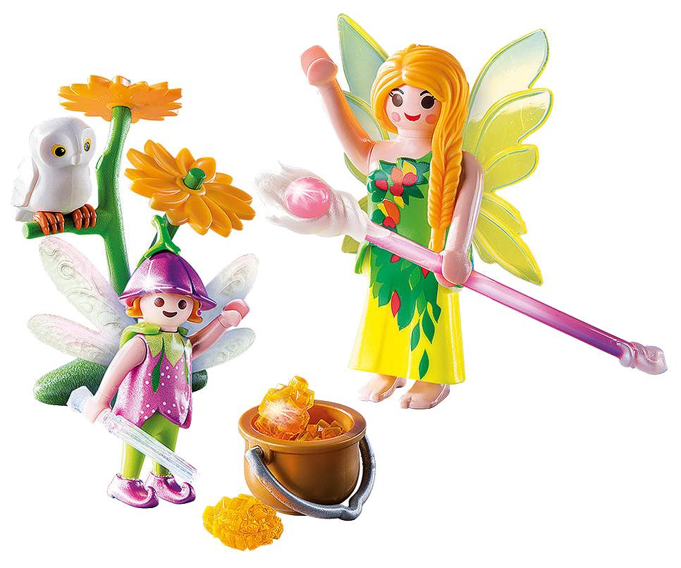 Игровой набор Playmobil Яйцо: Феи с волшебным котлом