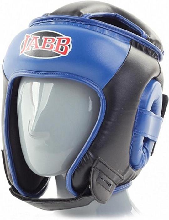Боксерский шлем Jabb JE 2093 синий/черный L