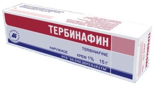 Тербинафин крем 1 % 15 г