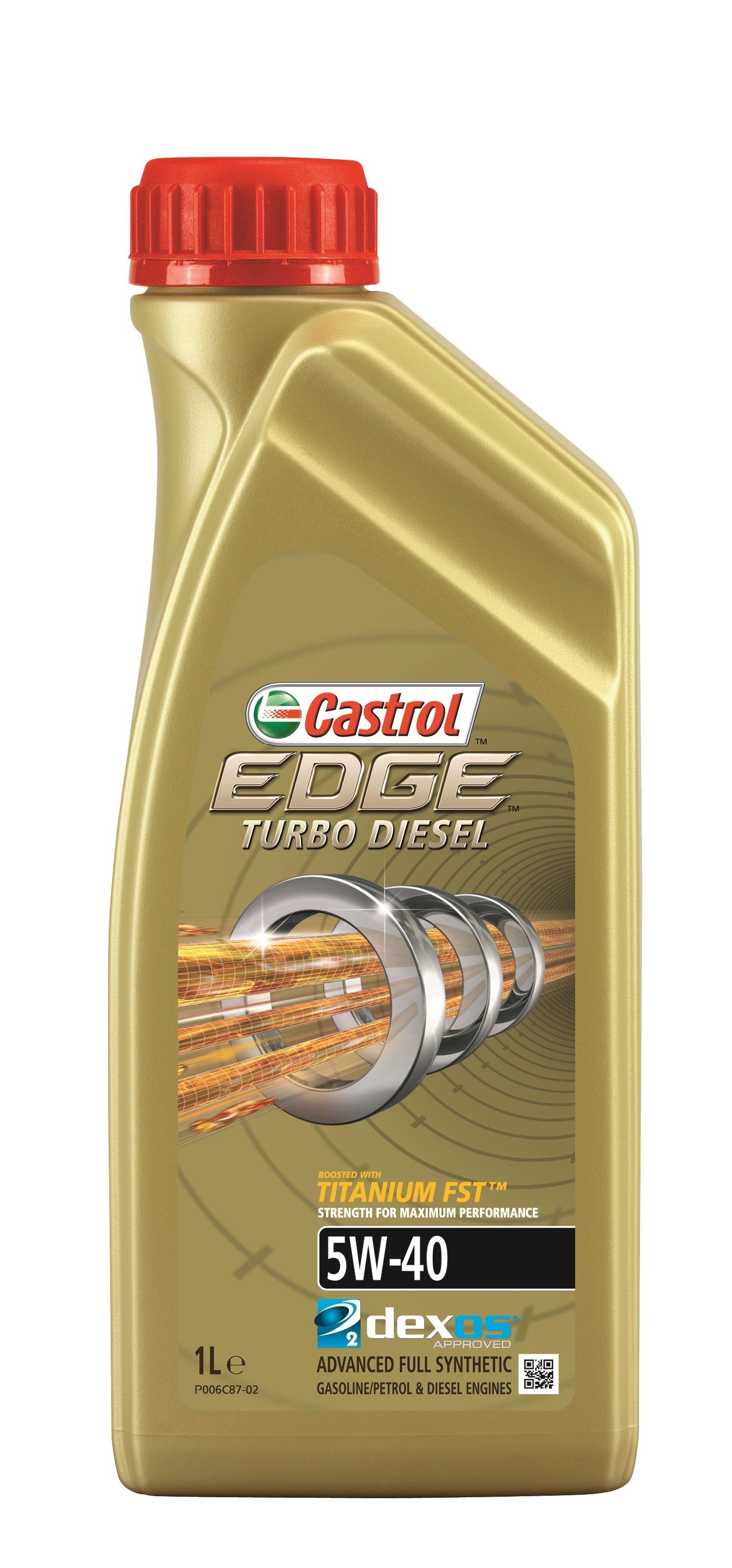 Моторное масло Castrol Edge Turbo Diesel 5W-40 1л
