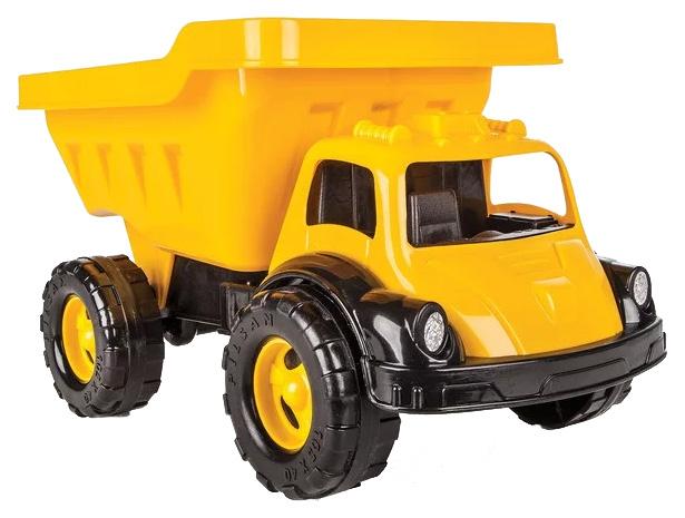 Купить Машинка пластиковая Pilsan Грузовик Truva Truck (06-612) Оранжевый, Игрушечные машинки