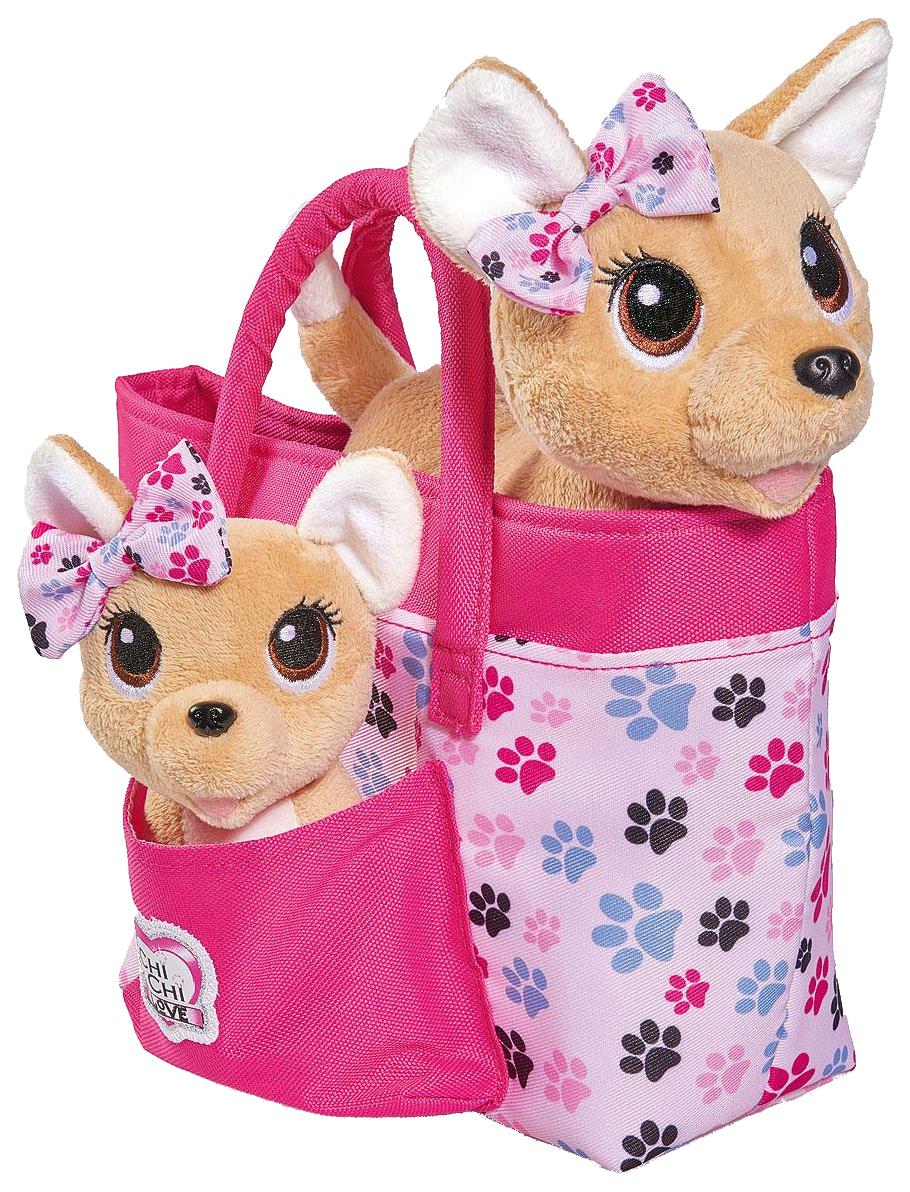 Мягкая игрушка Simba CHI CHI LOVE Собачки Счастливая семья фото