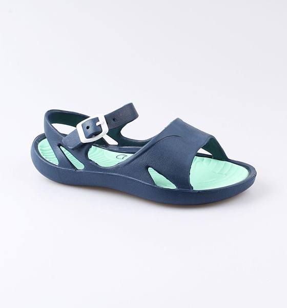 Пляжная обувь Котофей для девочки р.39 725033-01 синий