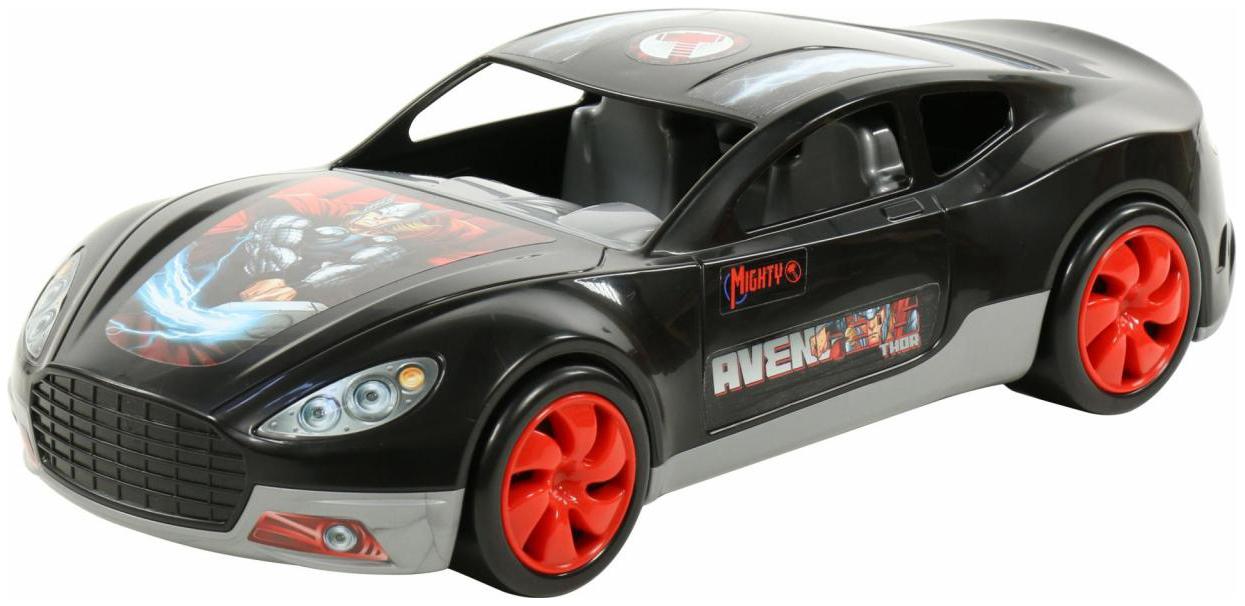 Купить Игрушки, Автомобиль Полесье Marvel Мстители Тор, Игрушечные машинки