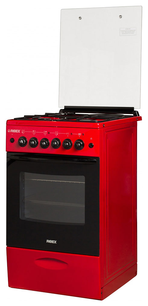 Комбинированная плита Reex CGE 531969 ecRd Red