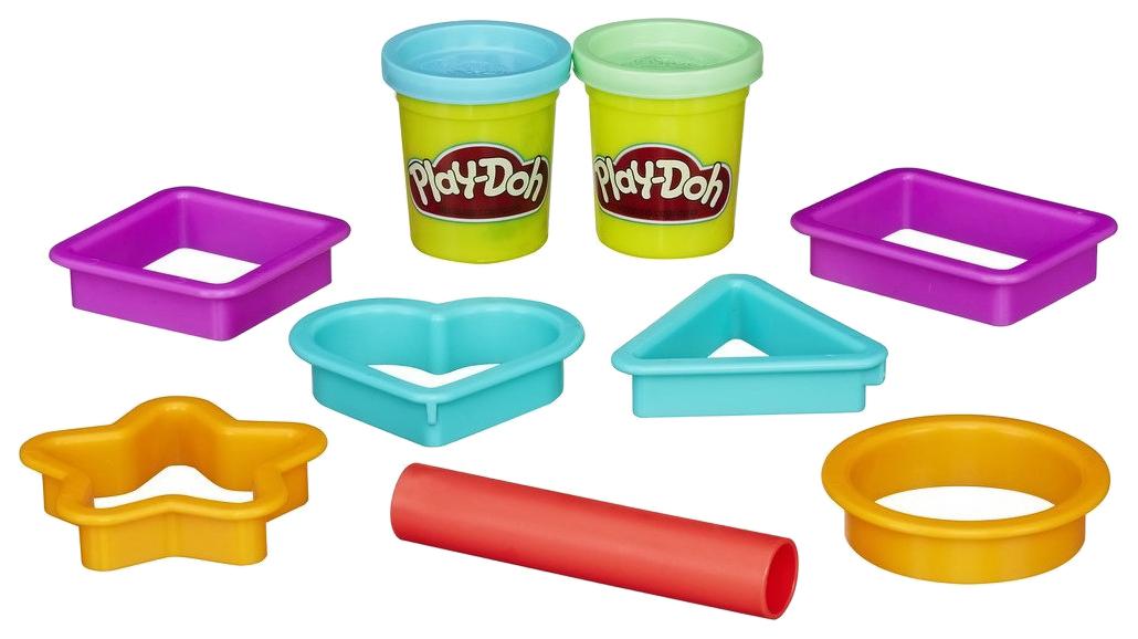 Купить Набор для лепки PLAY-DOH Печенье 2 цвета B4453 в ассортименте, Наборы для лепки Play-Doh