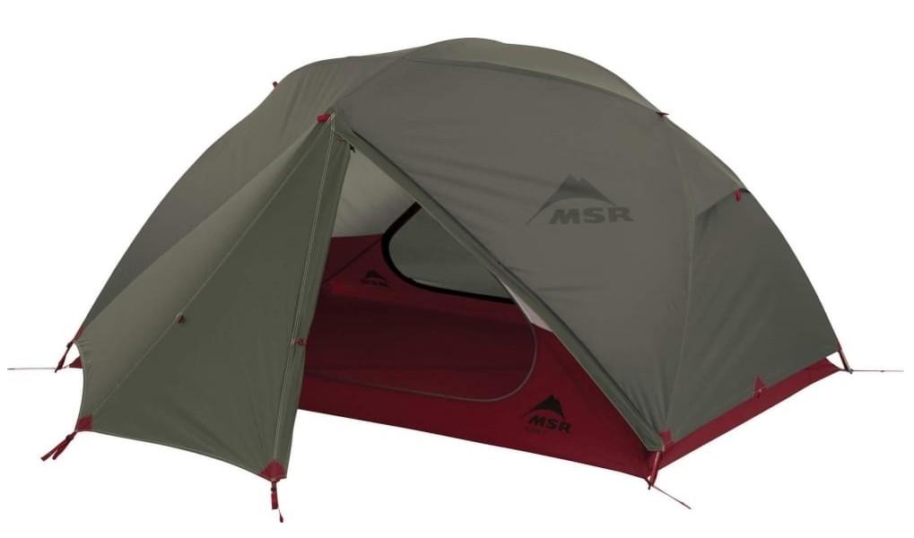 Палатка MSR Elixir зеленая двухместная