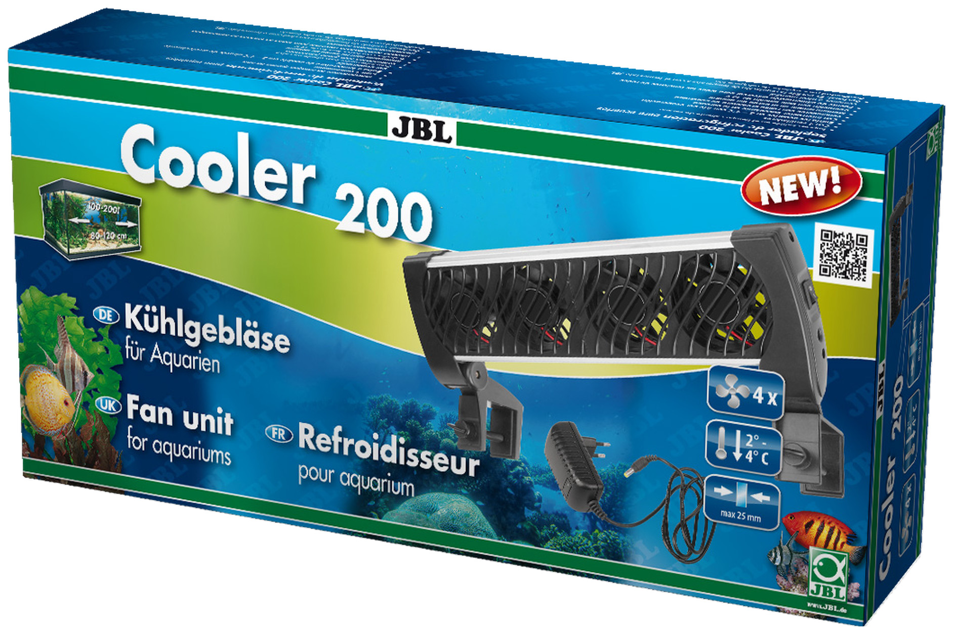 Вентилятор JBL Cooler 200 для охлаждения воды