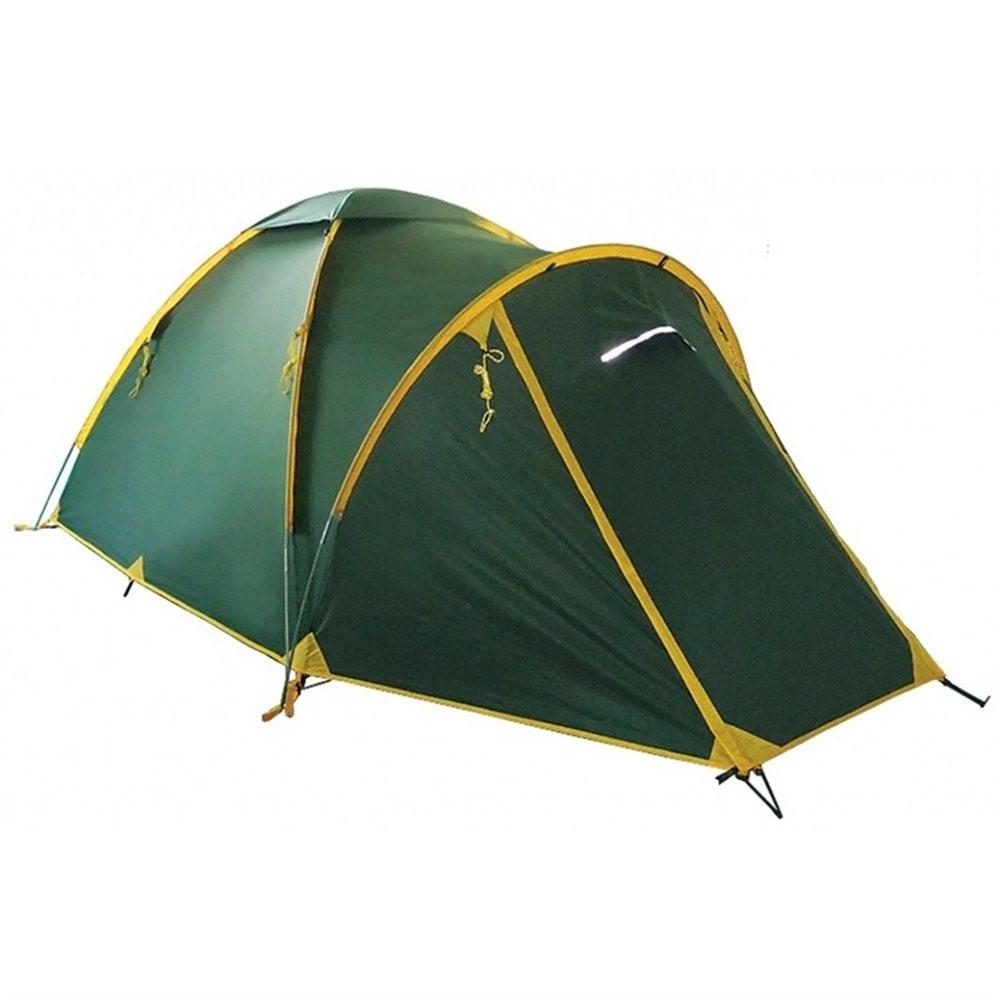 Палатка Tramp Space 2 V2 зеленый Цвет зеленый