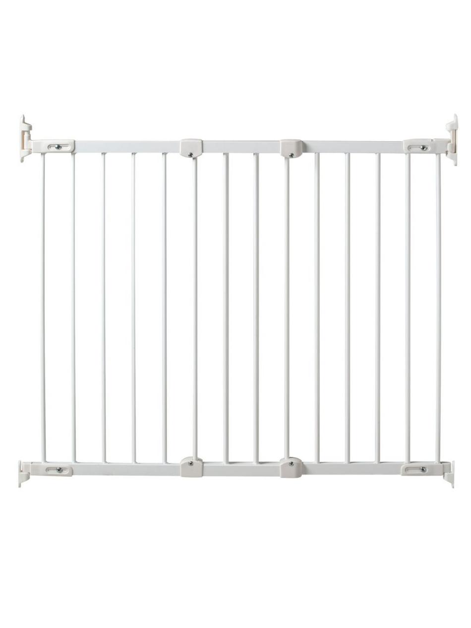 Safe&care ворота мелалл 64-99,5 см белые