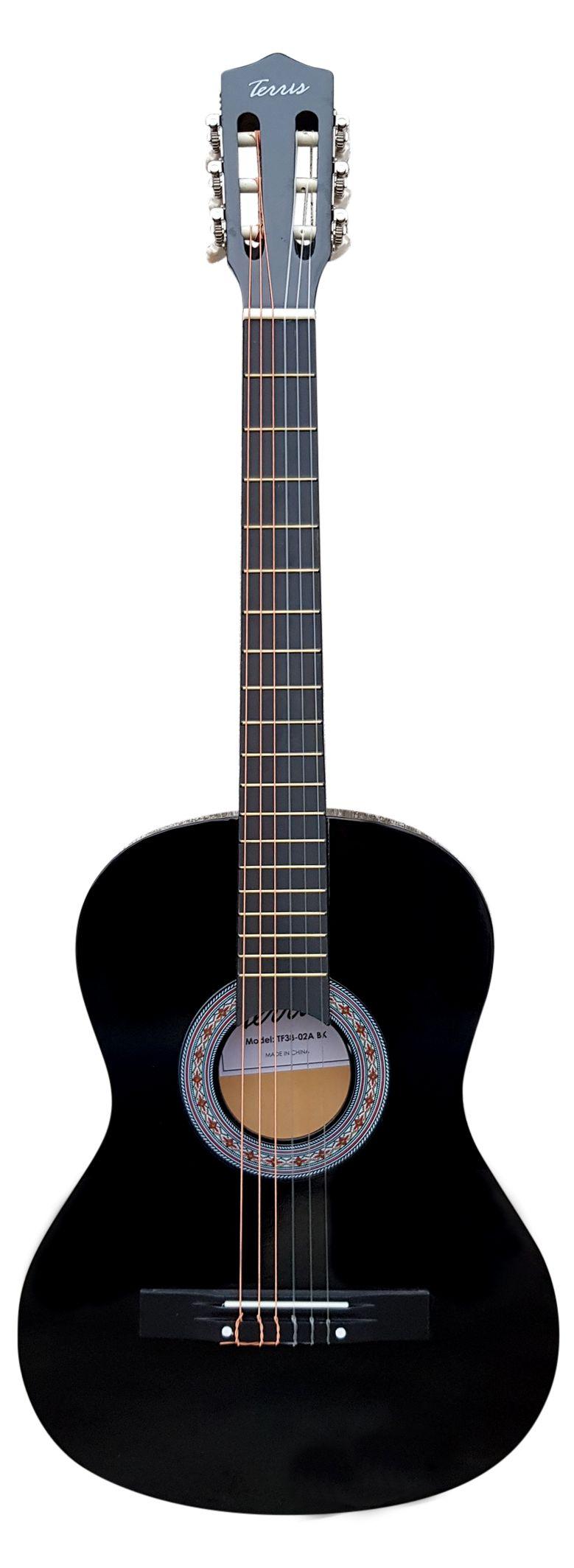 Акустическая гитара TERRIS TF-3802A BK фото