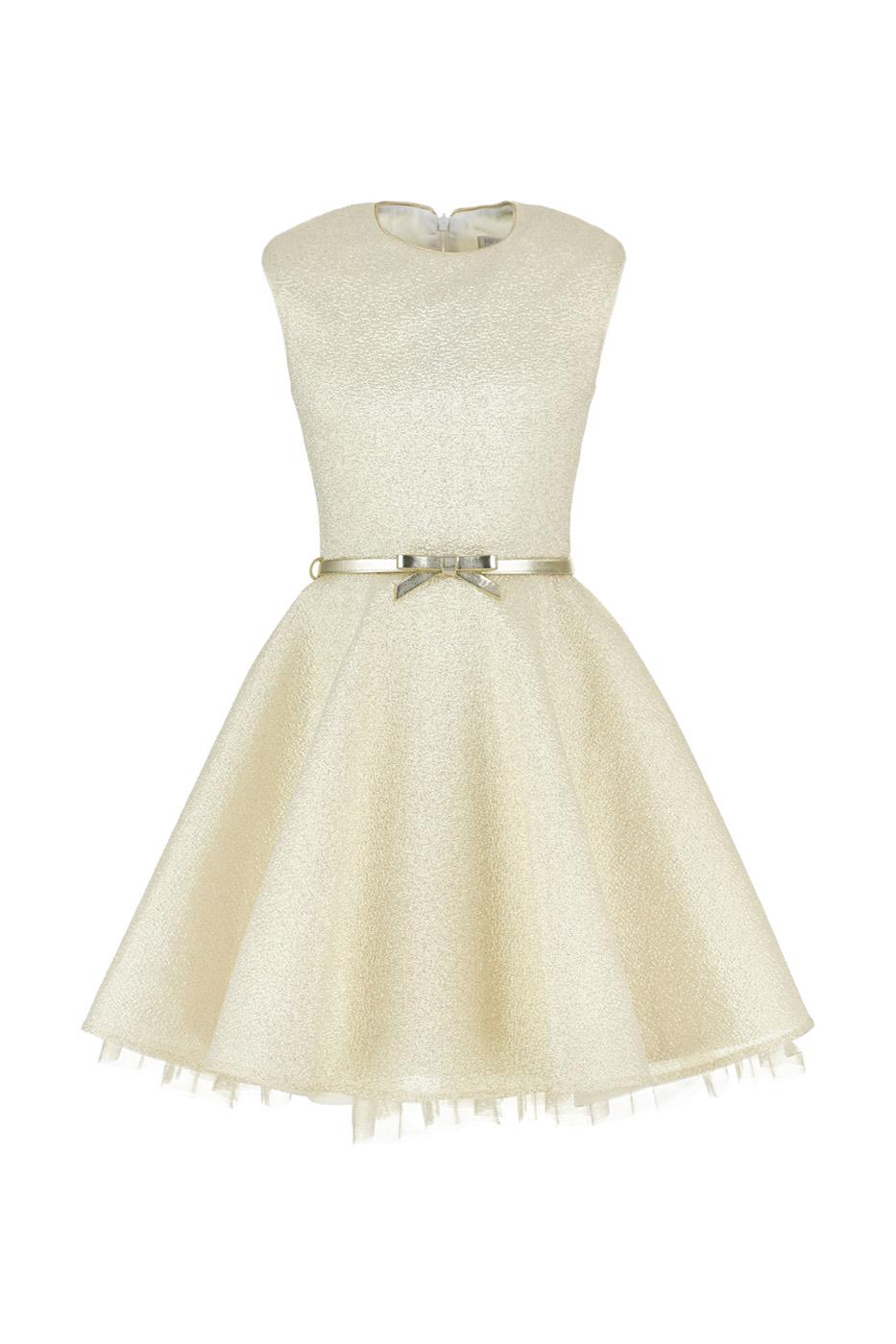 Купить Платье Silver Spoon Ceremony, цв.золотой, 164 р-р., Детские платья и сарафаны