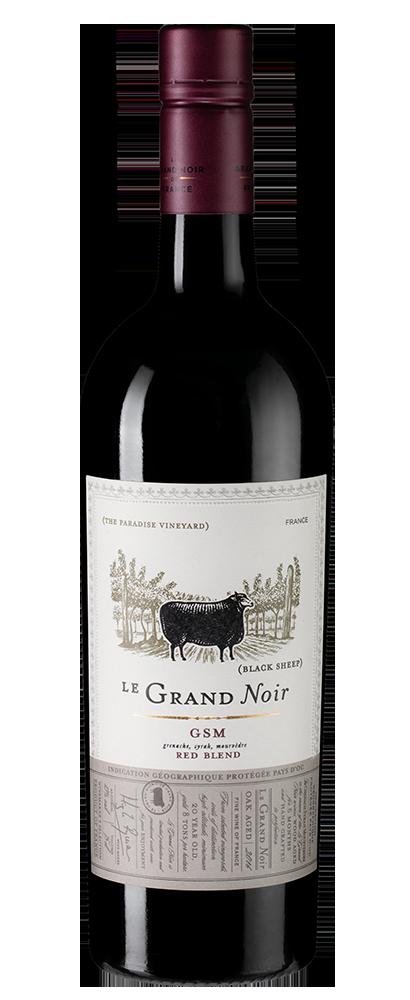 Вино  Le Grand Noir Grenache-Syrah-Mourvedre, Les Celliers Jean d\'Alibert, 2017 г.