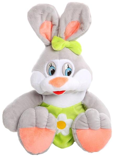 Купить Мягкая игрушка СмолТойс Зайка Даша 1612/СР, Мягкие игрушки животные