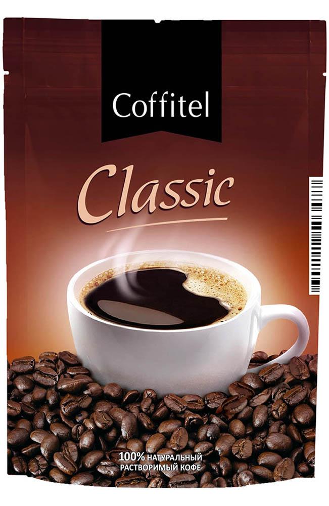 Кофе растворимый гранулированный Coffitel Classic 75 г